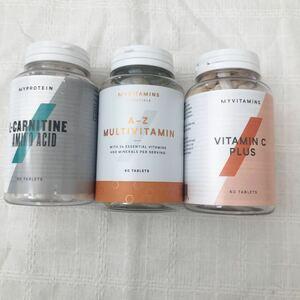 マイプロテイン カルニチン マルチビタミン ビタミンCマルチビタミン