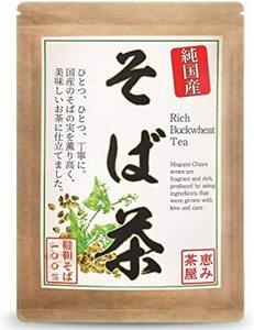 韃靼そば茶 国産 4g×30包 韃靼そば100% ティーバッグ 無添加 恵み茶屋