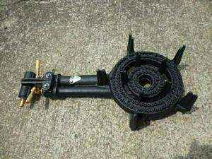 タチバナ TS-210 鋳物コンロ、バーナーのみ(下枠なし) プロパン LPガス用(送料無料)