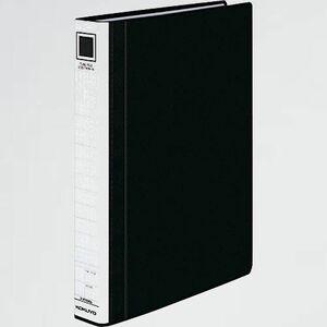 新品 未使用 ファイル コクヨ P-BK 黒 フ-RT630D パイプ式ファイル エコツインR(両開き) A4 2穴 300枚収容