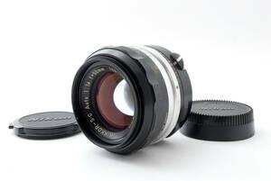 【良品】Exc+5 Nikon NIKKOR-S.C Auto 50mm f/1.4 MF Non-Ai Lens #131 ニコン ニッコール 131@Bb