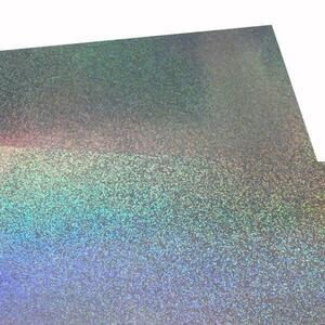 大判ホログラムシート紙 粘着なし 1枚セット サンド こんなの欲しかった 切って使える 裏面白紙 包装紙 折り紙