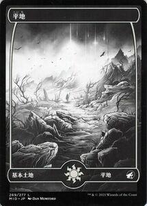 MTG 平地 基本土地 マジック:ザ・ギャザリング イニストラード:真夜中の狩り MID-269   日本語版 基本土地 基本土地
