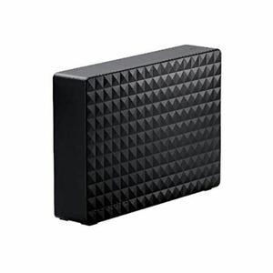 ELECOM 外付けハードディスク 4TB テレビ録画 外付けHDD USB3.1/3.0 SGD-MX040UBK