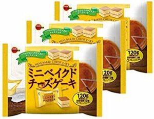 ブルボン ミニベイクドチーズケーキ 120g 12入リ X3袋