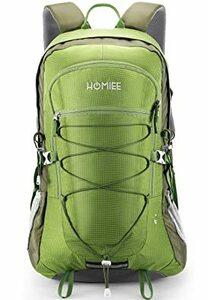 グリーン [HOMIEE] 登山 リュック バックパック ザック リュックサック 45L 大容量 アウトドア バッグ 多機能