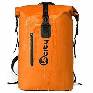 オレンジ [VILOCY] 35L リュック バックパック ザック アウトドアバッグ 防水 大容量 登山 キャンプ 旅行