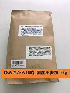 5㎏ 強力粉 (5㎏) 北海道探訪 ゆめちから5㎏(国産小麦粉ゆめちから100%) 前田産業株式会社