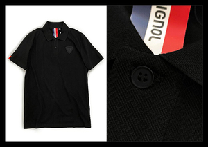定価1.5万 ROSSIGNOL ロシニョール スポーツとファッションを融合した1枚!ストレスフリーな着心地の ポロシャツ 半袖 ストレッチ