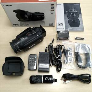 Canon デジタルビデオカメラ iVIS HF G20 オマケあり