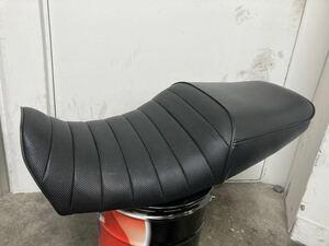 スズキ GSX1400 カスタムシート ローシート加工タックロールシート アンコ 抜き