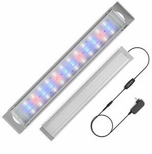 人気 アクアリウム LED水槽ライト 水槽用照明 40~45CM 魚ライト 36連 3色 白/赤/青 観賞魚 熱帯魚 水草育成