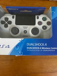 PS4 ワイヤレスコントローラー 純正 DUALSHOCK4 保証有り ホワイト デュアルショック4 グレイシャー