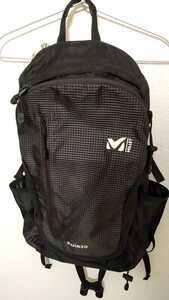 MILLET ミレー Kula クーラバックパック ブラック グレーマール 30L 美品 リュック
