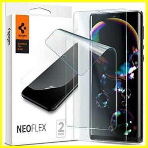 Spigen NeoFlex フィルム Sharp AQUOS R6 用 全面保護 TPU素材 アクオス r6 対応 貼り直しが可能 フルカバー 2枚入