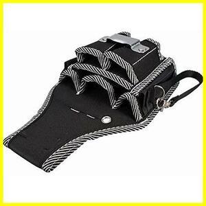 zmart 9ポケット 電工バック 腰袋 工具差 工具袋 釘袋 ペンチ ドライバー メジャー ホルダー 600Dナイロン ツールバッグ 電卓
