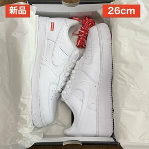 【新品】 US8 26cm Supreme Nike Air Force 1 Low 白 ホワイト white シュプリーム ナイキ エア フォース ロー AF1 名古屋店購入 21AW