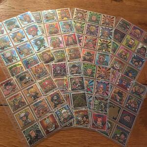 ワンピースマン☆96種フルコンプ☆1&2☆新世界&超新星96種☆フルコンプ☆コンプ☆ビックリマン☆ワンピースワンピースマンシール