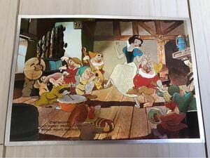 白雪姫 ポストカード ヴィンテージ 2枚 ディズニー