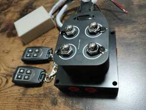 【類似品に注意】エアサス ソレノイド 電磁弁 リモコン付 ACC繋ぐだけ 2独 高耐久 高性能