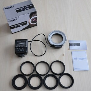 Meike made LED macro ring flash & light Canon for