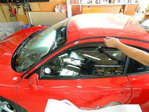 Ferrari 360 modena roof side molding set mo- Leroux f