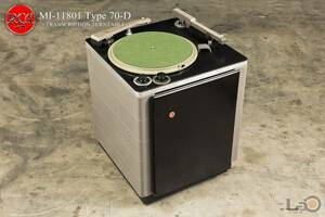 RCA 70D 16インチ局用ターンテーブル Stereo/Monoアーム2本 (米国/ロサンゼルス発)