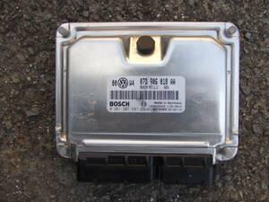 B5.5 * 3BBDNF Passat W8 engine computer -07D906018AA * BDN