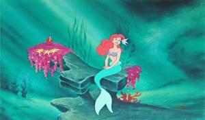 ディズニー リトルマーメイド アリエル セル画 限定 レア Disney