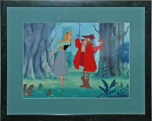 ディズニー 眠れる森の美女 セル画 限定 レア Disney 入手困難