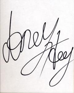 極真 K-1 魂の格闘家 故 アンディ・フグの直筆サイン色紙