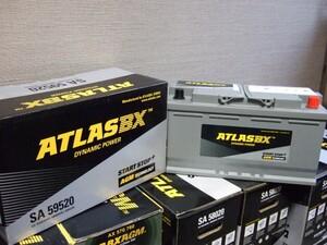 アトラス 新品バッテリー AGM SA 59520 95Ah ベンツ Sクラス Eクラス CL( W140 W215 W216 ) (2001-2008) 適合バッテリー ATLAS BX