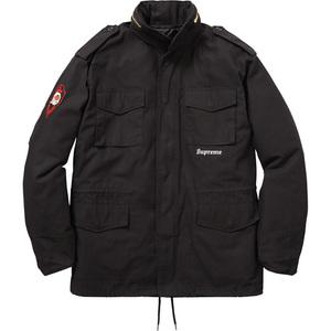 Supreme x Slayer 16AW Eagle M-65 Jacket Black Small オンライン購入 国内正規 納品書,半タグ付 シュプリーム スレイヤー ジャケット 黒