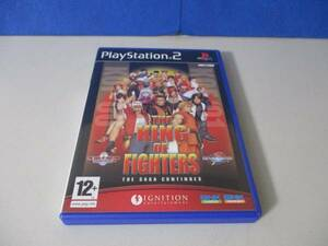 PS2 The King of Fighters 2000-2001 ザキングオブファイターズ