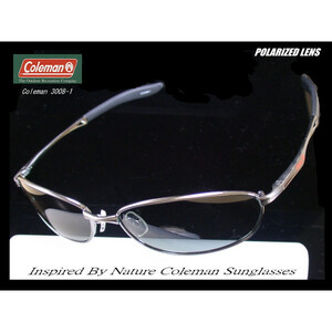 [NO.1 model ]Coleman Co3008-1V smoked polarized light sunglasses!!