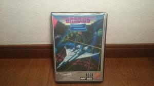 MSX 【グラディウス2】コナミ KONAMI GRADIUS2 即決