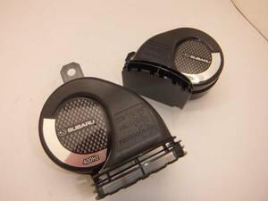 Subaru re Vogue (VM)SUBARU horn black high & low