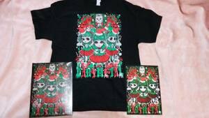 UK limitation unused BABYMETALgimi chocolate Christmas T-shirt poster attaching XL