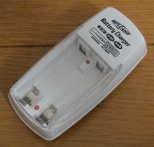 【充電器:経済的でエコ】★1個:充電池用 充電器(単3・単4用) ◆ ニッケル 水素 電池 充電池★充電池 電池 バッテリー 充電池用