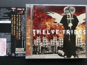 【国内盤帯付/エモ&カオティックハードコア】TWELVE TRIBES/The Rebirth Of Tragedy