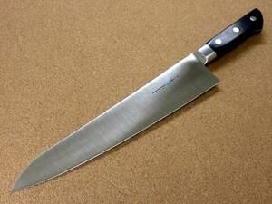 関の刃物 牛刀 27cm (270mm) TSマダム クロムモリブデン ステンレススチール 家庭用の洋包丁 肉 魚 野菜 パン切り 両刃万能包丁 日本製
