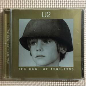 U2『ザ・ベスト・オブU2 1980-1990』英国盤CD