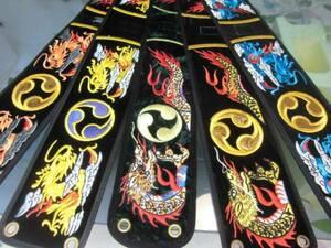 (送料無料)、2.190円開始 沖縄三線専用ドラゴン胴巻き  お好みの一品を!