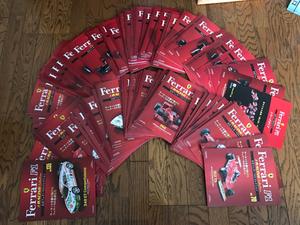 大量! アシェット フェラーリ F1 コレクション 冊子1~135号