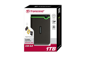 new goods Transcend attached outside portable HDD 1TB USB3.0 correspondence TS1TSJ25M3S( old model TS1TSJ25M3. evolution version. )