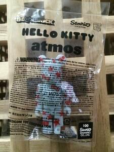 HELLO KITTY × atmos BE@RBRICK 100%(ベアブリック・アトモス・ハローキティ・サンリオ・メディコムトイ)