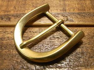 ツイスト バックル 真鍮 ブラス 24mm レザー ベルト 革 2.4cm 美錠 尾錠 カスタム レザークラフトに bcl-011-24
