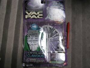 新品 INTERGALACTIC VAC PAC CRYO-ICE CLAWDIUS フィギュア 伸びる人形 US TOY レア ホラー モンスター us toy レトロ 海外 figure doll