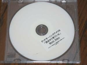 グッドモーニングアメリカ 「空ばかり見ていた の特典DVD-R」