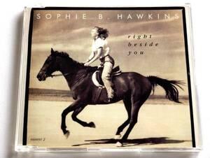【ハウス】 ソフィー・B・ホーキンス/Right Beside You(UK盤CD)■ Sophie B. Hawkins / Whaler